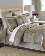 f602 Martha Stewart Bedding, Echo Pond 9 Piece QUEEN Comforter Set