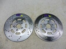 1997 Harley FLHT Electra Glide Classic S659. front brake rotors discs
