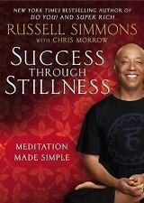 SUCCESS THROUGH STILLNESS Meditation Made Simple Russell Simmons (2014) NEW book