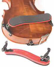 Viva La Musica Red 3/4-4/4 Violin Shoulder Rest - NEW!