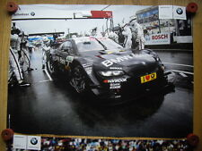 BMW M3 DTM BMW BANK Team Schnitzer Bruno Spengler Poster  Motorsport Racing