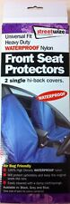 VEHICLE FRONT SEAT PROTECTORS 2 PACK UNIVERSAL FIT WATERPROOF NYLON CA23