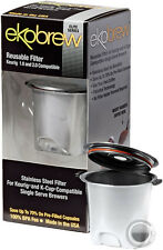 Ekobrew Elite Reusable K-Cup Filter for Keurig 2.0 & 1.0 Brewers Stainless Steel