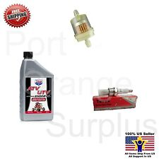 Scooter Moped ATV 50cc-150cc GY6 Tune Up Kit Fuel filter Lucas Oil Spark Plug