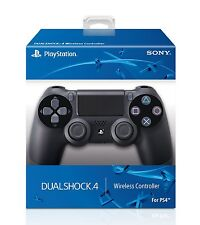 Official DualShock PS4 Wireless Controller for PlayStation 4 - Jet Black NE