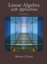 Linear Algebra with Applications (9th Edition) (Featured Titles for Linear Algeb