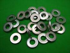 Très épais plat entretoise rondelles,acier,M10,4mm épais,paquet de 25,