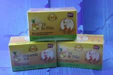 3 Box Dr MIng Pineapple Tea (90 Bags) Dr Ming Chinese Weight Loss Te de Pina