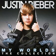 """JUSTIN BIEBER """"MY WORLDS THE COLLECTION"""" 2 CD NEW+"""