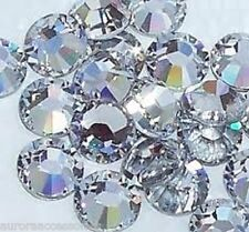 3mm LARGE JOB LOT (1152 PIECES) Great Quality Hot Fix Crystal Flatback HOTFIX
