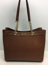 Calvin Klein Saffiano Leather Tote!! Nwt!! Msrp $228.00