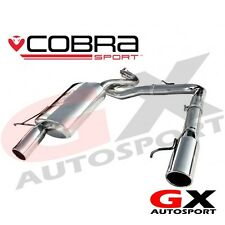 BM62 Cobra Sport BMW 318D & 320D E90 Saloon 05-11 Dual Exit Rear Exhaust Backbox