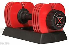 Stamina X VERSA-BELL 10-50 lb. -Adjustable Weight Dumbbell- 05-2150B - NEW 2016
