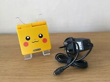 Nintendo Gameboy Game Boy Advance SP paquete GBA Pikachu Pokemon * Nuevo Shell *