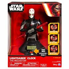 Star Wars Inquisitor Lightsaber Teaching Clock Ages 4+ Light Saber Toy Boys Gift