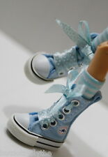 Custom Sneakers Shoes For Blythe/Pullip/Monster High/Lalaloopsy/Dal -SN218, Blue