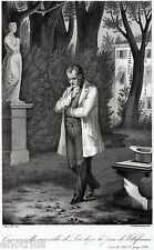 Camillo Benso di Cavour,nella sua Villa di Leri,Trino,Vercelli.Risorgimento.1863