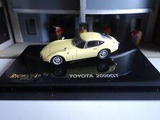RICKO  TOYOTA  2000 GT   YELLOW    1/87  HO CAR PLASTIC