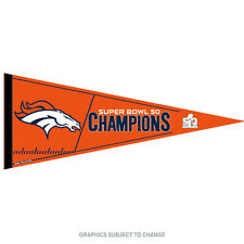 Denver Broncos Official NFL Super Bowl 50 Champions Pennant by Wincraft 452603