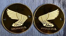 Honda Gas Fuel Tank Emblem Left Right Old Vintage Original OEM CL77 CL125 CA175