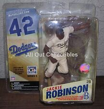 Mcfarlane MLB Cooperstown 3 Jackie Robinson Sepia Variant Brooklyn Dodgers