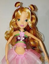 """Winx Club Believix """"FLORA"""" 11.5"""" Deluxe Fashion Doll Fairy Nickelodeon New Rare"""