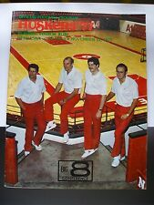 1977 Football PROGRAM for Nebraska Cornhuskers vs Kansas Jayhawks- Nov. 12