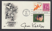 Gene Kelly, American Actor and Dancer, autographed 13c US Dance combo FDC