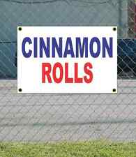 2x3 CINNAMON ROLLS Red White & Blue Banner Sign NEW Discount Size & Price
