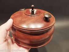 Antique Vintage Style Treenware Miniature Campaign Roulette Wheel Game Bowl