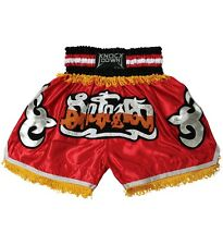 Muay Thai Short- Boxing/kickboxing short Red- LARGE