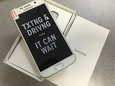 Inbox Samsung Galaxy S6 SM-G920a 32GB White Pearl (Unlocked) AT&T Excellent