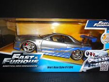 Jada Nissan Skyline GT-R R34 Brian's Fast and Furious 1/24