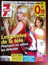 Télé 7 Jours 04/07/2009; Patty Hewes/ Wilhelmina Slater/ Album Secret Story