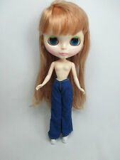 Handcrafted clothing pants trousers for Blythe Basaak doll # jeans 1