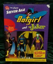 DC DIRECT COLLECTIBLES SILVER AGE SERIES JOKER VS BATGIRL 2-PK FIGURE GIFT SET