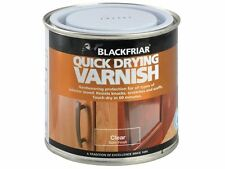 Blackfriar - Quick Drying Duratough Interior Varnish Clear Satin 500ml