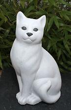 Figurine De Jardin Sculpture En Pierre Chat Décoration Idées Cadeaux D'animal