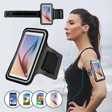For Samsung Galaxy S6 & S6 Edge Running Jogging Gym Exercise Sports Armband Case