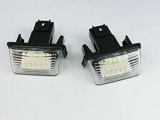 LED NUMBER PLATE LICENSE PANEL LIGHT LAMP PEUGEOT 307
