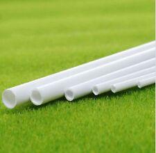10 pcs ABS Styrene Plastic Round Tube Pipe Diameter 2mmX250mm White