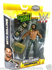 WWE, Elite Collection Wrestlemania 31, Seth Rollins Action Figure  NEW IN BOX