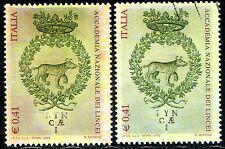Repubblica 2003 Accademia dei Lincei n. 2678 - varietà fondo rosato ** (m458)