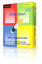 Website Design CSS HTML Editor Web Page Domain Develop Professional Software DVD
