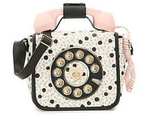 NWT Betsey Johnson Kitsch Phone Crossbody Black Dot SOLD OUT EVERYWHERE!!
