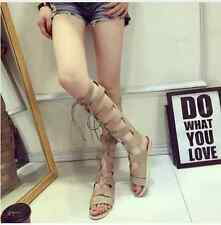 knee-high gladiator sandals sz EURO 37 (SZ 6 US)