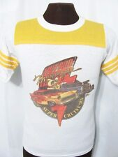 vintage HOT ROD MAGAZINE 1985 SUPER CRUISE CAR SHOW RINGER 80s jersey t-shirt S