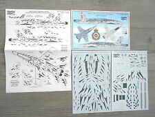 "CF-18 HORNET ""CAF/433 SQD"" LEADING EDGE DECALS 1/48"