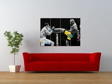 Anderson Silva UFC KICK FIGHTER COOL GIGANTE art print poster pannello nor0024