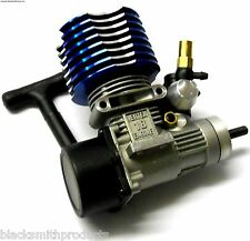 02060 .18 VX RC Glow Nitro Engine Rotary Carb Side Exhaust Blue 1/10 Scale